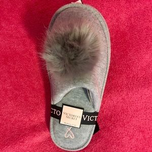 Victoria's Secret slippers! Gray! New with tags!